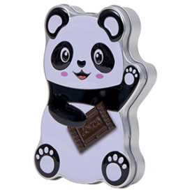 Promotionele blikken: Panda Chocolate