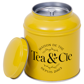 Tea & Cie: custom made blik